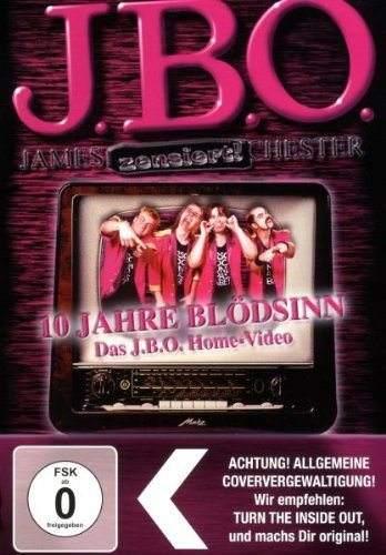 10 Jahre Blödsinn – Das J.B.O. Home-Video (DVD Re-Release)