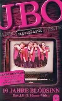 Cover: 10 Jahre Blödsinn – Das J.B.O. Home-Video