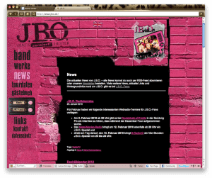 Screenshot: www.jbo.de