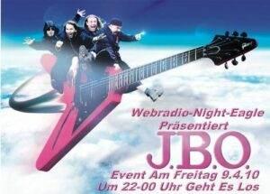 J.B.O. Special bei Webradio-Eagle-Night