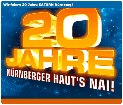 20 Jahre Saturn Nürnberg
