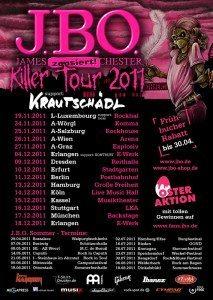J.B.O. Killer Tour 2011