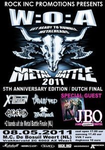 Wacken Open Air Metal Battle 2011 (NL)