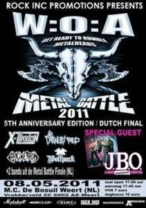Wacken Open Air Metal Battle 2011 (NL)