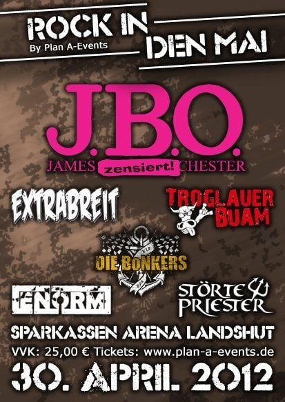 Neuer Termin: Rock in den Mai in Landshut