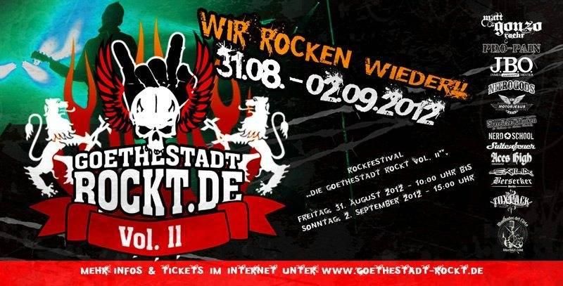 01.09.2012 - Goethestadt Bad Lauchstädt - Die Goethestadt rockt II