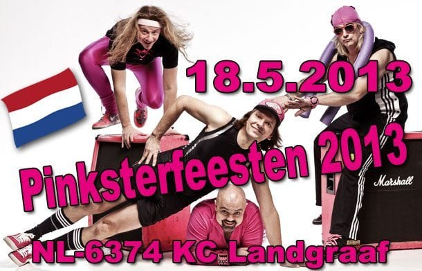 Frischer Termin: Am 18. Mai beim Pinksterfeesten 2013