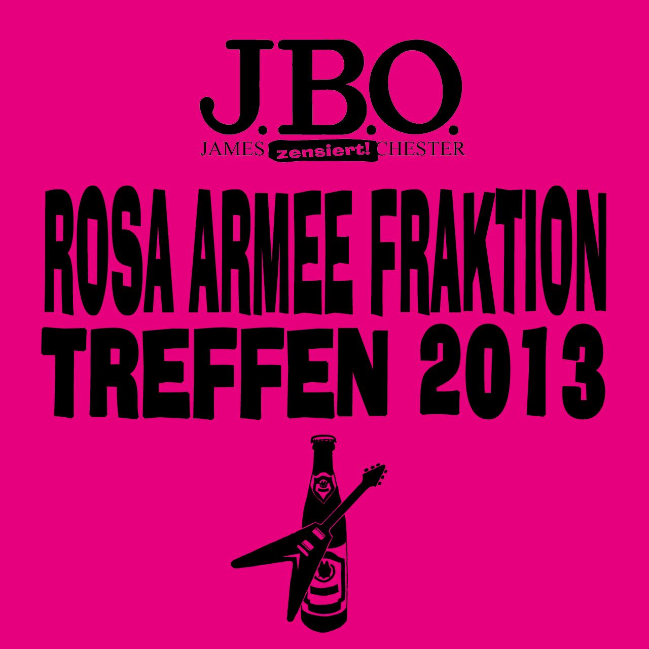 Rosa Armee Fraktion Treffen 2013
