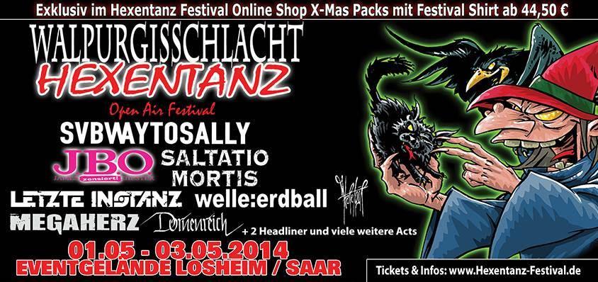 Neue Shows: Winterbreeze & Walpurgisschlacht
