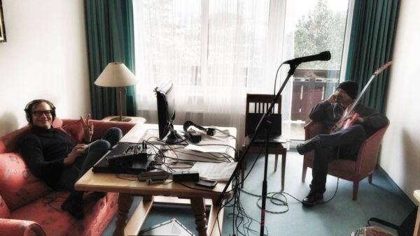Bei der Arbeit am neuen Album