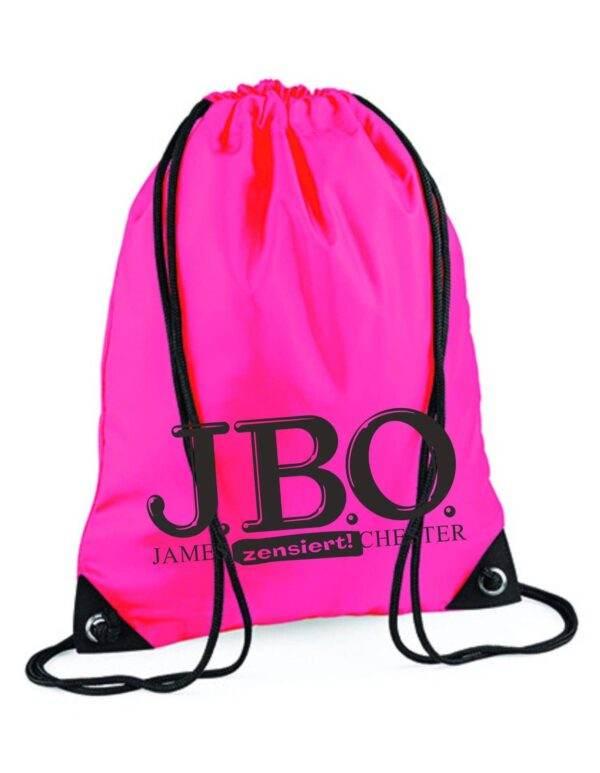 Nichts für Turnbeutelvergesser: J.B.O.-Sportbeutel