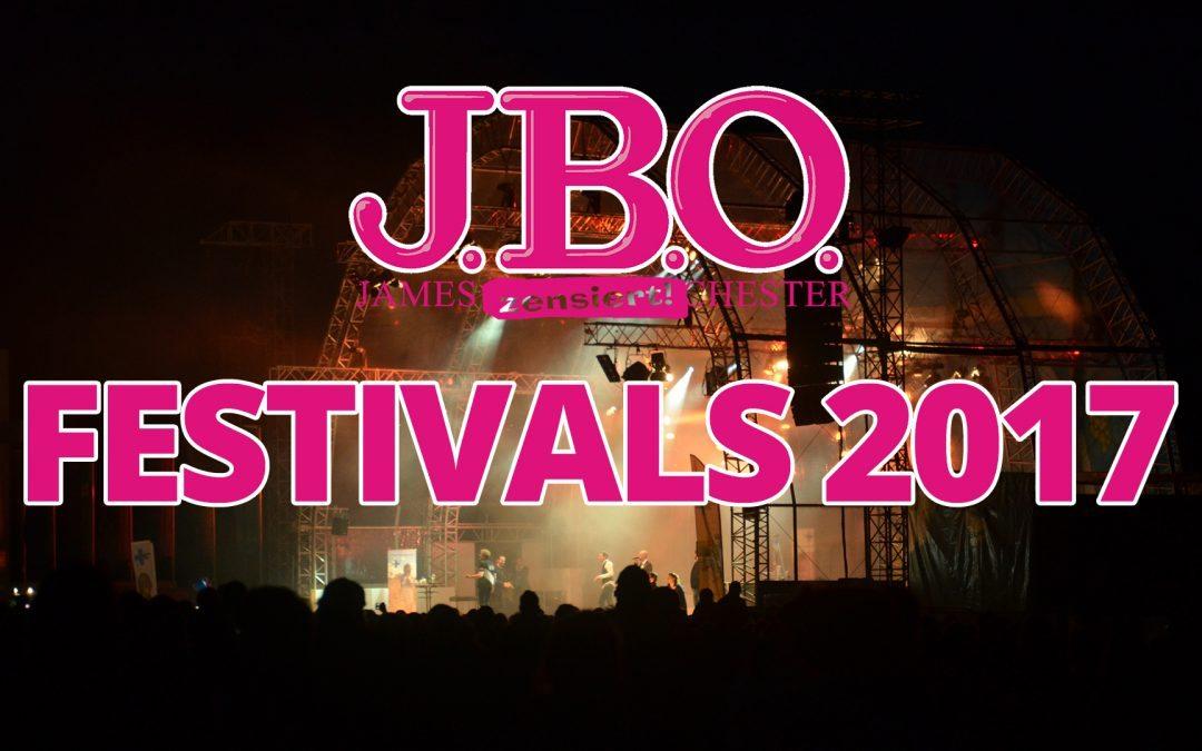 Festival-Termine für 2017