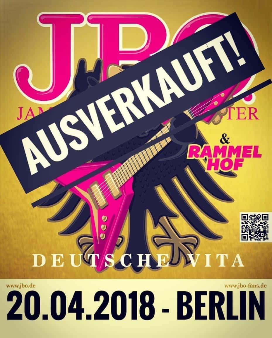 Konzert in Berlin ist ausverkauft!