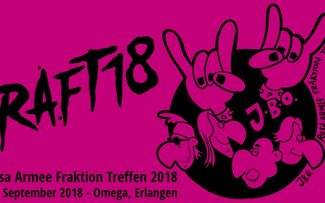 Nicht vergessen: RAFT18 am 29. September!