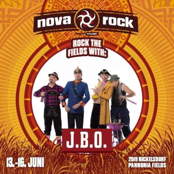 Nova Rock 2019 mit J.B.O.