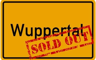 Sau-Tour 2019: Wuppertal ist ausverkauft!