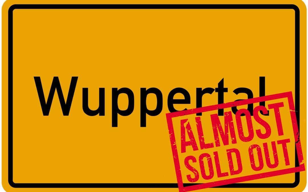 Sau-Tour 2019: Wuppertal fast ausverkauft!