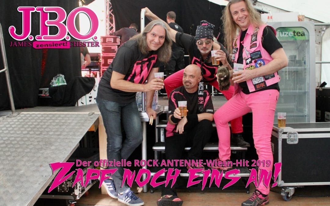 """Zapf noch eins an!"" – Der Rock Antenne Wiesn-Hit 2019"