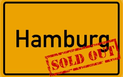 Sau-Tour 2019: Hamburg ausverkauft!