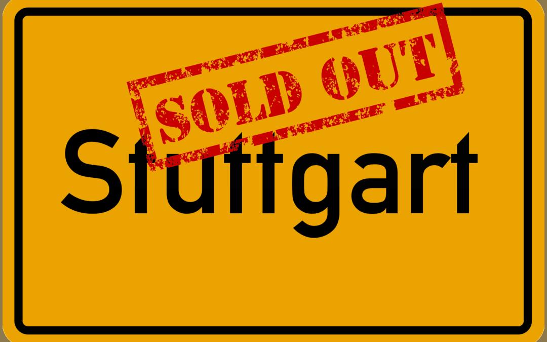 Sau-Tour 2019: Stuttgart ist ausverkauft!