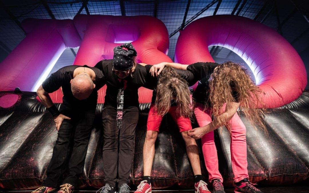 J.B.O. sagen Danke - Foto: Gabriel Köhler, Instagram: stage_heroes