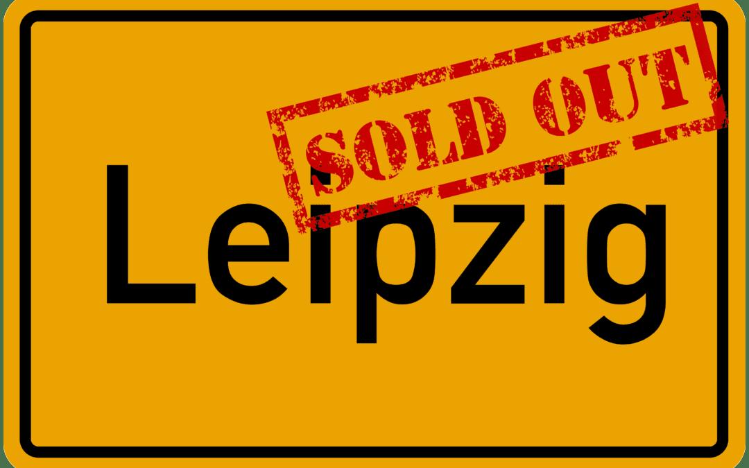 Sau-Tour 2019: Leipzig ebenfalls ausverkauft!