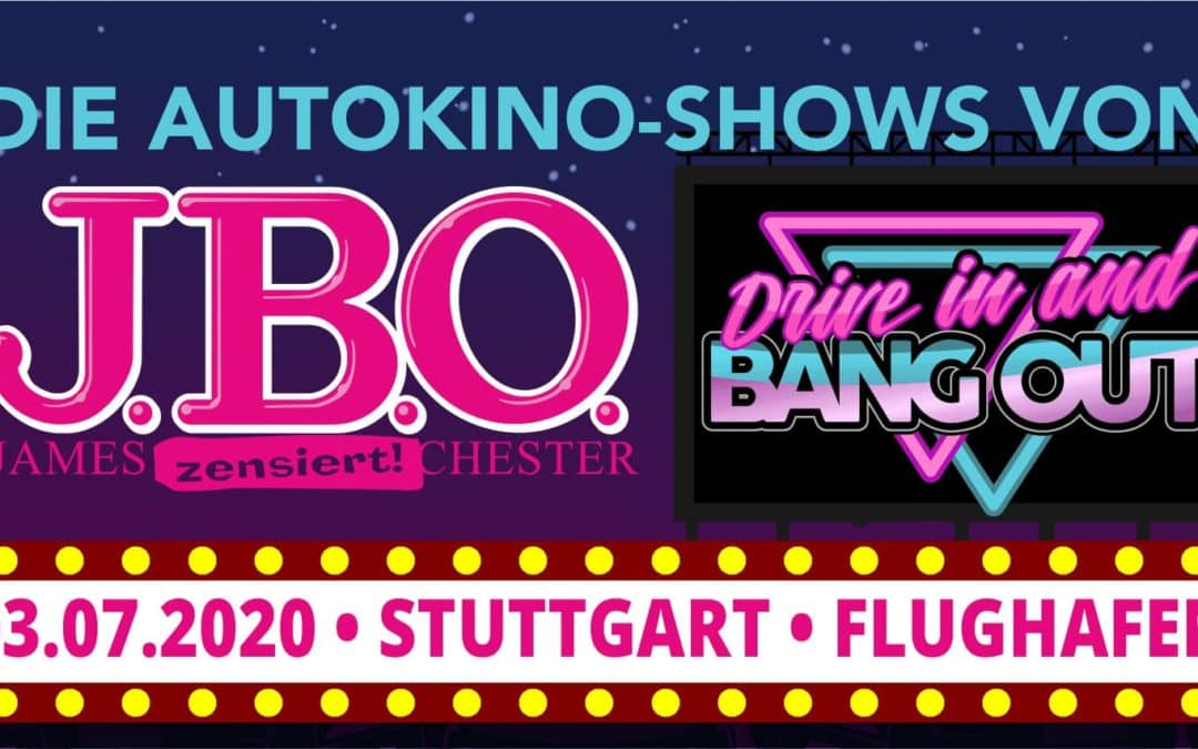 🚘 Stuttgart: Drive in and Bang out am 3. Juli 2020