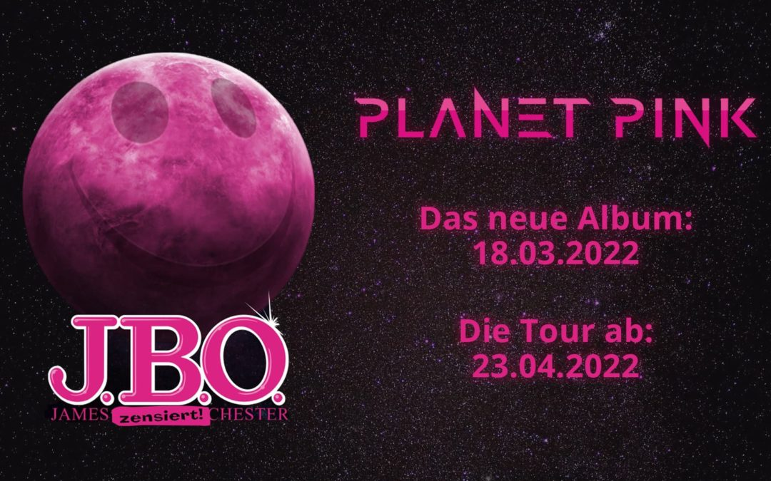 Neues Album und Tour 2022: Planet Pink
