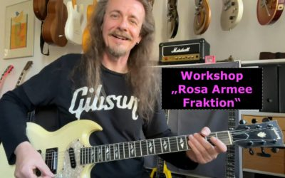 """Workshop: """"Rosa Armee Fraktion"""""""