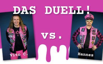 Anders nicht mehr zu klären: Das Duell zwischen Vito C. und Hannes